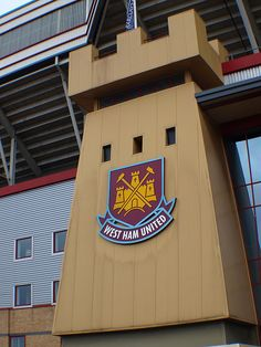 Entrance to Fortress Upton Park - My 'Place of Worship'