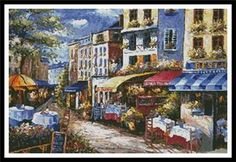 """""""Under the Tuscan Sun"""" by Artecy Cross Stitch"""
