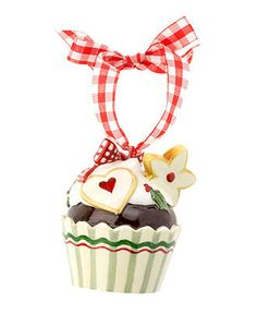 Villeroy & Boch Christmas Ornament, Winter Bakery Cookie Cupcake - All Christmas Ornaments - Holiday Lane - Macy's