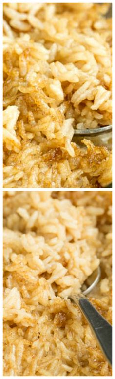 One Pan Stick of Butter Rice ~ Buttery, flavorful, and the easiest side dish you'll ever make... It's a tasty, simple, and versatile side that goes with chicken, pork, and beef!