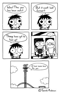 Ideas for funny things to draw doodles sarah andersen Sarah Anderson Comics, Sara Anderson, Cute Comics, Funny Comics, Sarah See Andersen, Funny Images, Funny Pictures, Sarah's Scribbles, Funny Comic Strips