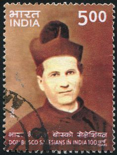 INDIA - CIRCA 2006: stamp printed by India, shows Salesians of Don Bosco in India, circa 2006.  Copyright: rook76