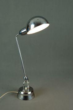 JUMO (1st Edition)Table Lamp CHARLOTTE PERRIAND Mid Century Bauhaus Art Deco 40s