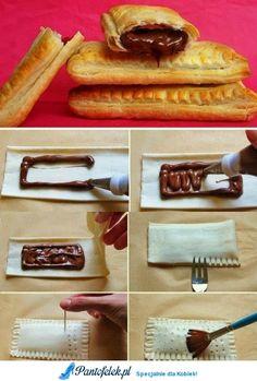 Ciastka z nutellą