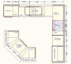 Resultado de imagen para standard apartment kitchen