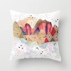 montañas+Throw+Pillow+by+Gabi+Piserchia+-+$20.00
