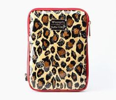 "Hello Kitty 7"" Tablet Case: Red Leopard"