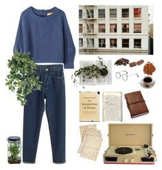 """#36"" by eugecazzari ❤ liked on Polyvore featuring Cultura, WithChic, Iliann Loeb, Crosley and Alöe"