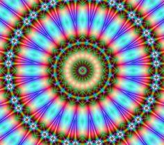 Mandala Fractal Art