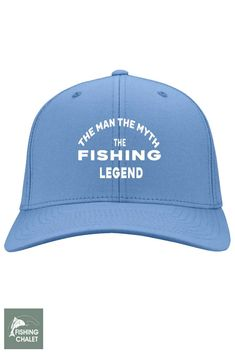 0c6b1499cf0 The Man The Myth The Fishing Legend Cap