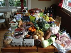 What does your family eat in a week? Great article from Jess Thompson (Hogwash).