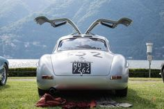 1955 Mercedes-Benz 300 SL Alloy Coupe Gullwing