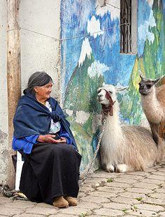Ecuador.  Photo: John Baker