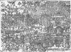 File:Florence-petrarch-trionfi.jpg The Trionfi of Petrarch, with all six allegorical triumphs in a single print. Various elements are characteristic of early Florentine illustrations of Petrarch. DateLate 1400s. SourceScanned from Von Bartsch: The Illustrated Bartsch, v.24.