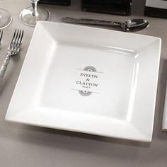 & Laser engraved dinner plate   Personalized Engraving   Pinterest