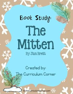Book Study: The Mitten 1st - 3rd Grade Worksheet   Lesson Planet