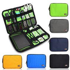 BUBM DIS-M Accessories Organizer Hard Drive Earphone Cable USB Flash Drive Case Digital Storage Bag