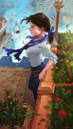Bioshock Elizabath by Adam Zhu on ArtStation. Bioshock Game, Bioshock Series, Chica Anime Manga, Anime Art, Bioshock Artwork, Bioshock Infinite Elizabeth, Bioshock Rapture, Girls Anime, Video Game Art