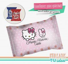 Hello Kitty - Envoltorio Alfajor para imprimir
