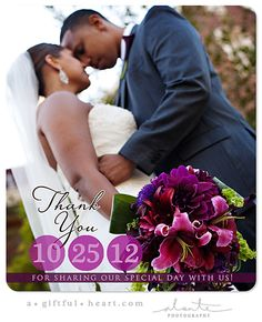 Wedding Thank You Magnets Photos Photo Quality Paper