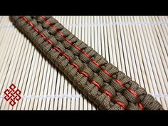 Stitched Chain Sinnet Paracord Bracelet Tutorial - YouTube