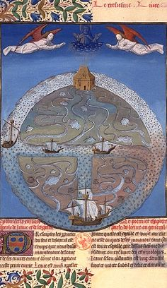 The Properties of Water, Barthélemy, English, Book of Properties of Things, 15th century (from Maps before Maps from the 11th–14th century)