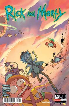 eXpertComics offers a wide choice of Oni Press products, like the Rick and Morty…