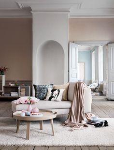 pastel furnishings