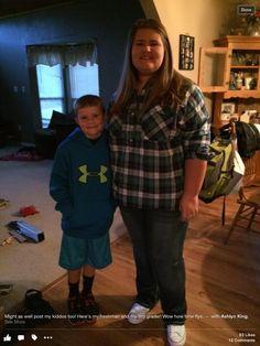 My aunt Doris two grandkids Ashlyn and Dillon. 2015