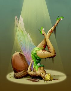 Zombie Tinkerbell Colors by steevinlove.deviantart.com on @deviantART