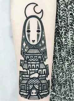 Spirited Away, No face tattoo