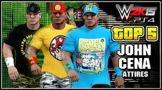 WWE 2K15 - John Cena Top 5 Attires - Community Creations