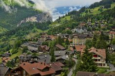 Most beautiful villages and towns in Switzerland. This is our list of the top places we dont think you should miss on your visit to Switzerland. Beautiful Places In The World, Places Around The World, Around The Worlds, Zermatt, Rafting, Places To Travel, Places To See, Wengen Switzerland, Travel Pictures