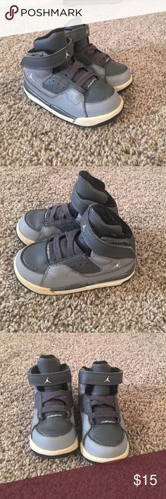 7C Nike Jordan high top Shoes Good condition! Size 7C Nike Jordan brand. Bundle and save! Ships out within 2 business days ! Jordan Shoes Sneakers