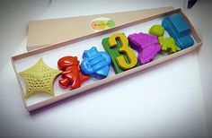 Birthday Crayon Box Handmade gift great for a birthday gift