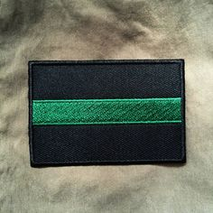 Thin Green Line Patch Game Wardens, Border Patrol, and other federal agents.