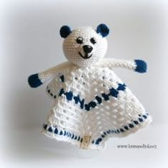 Usínáček pro šibálka – Krampolinka Teddy Bear, Baby Shower, Toys, Crochet, Animals, Amigurumi, Babyshower, Activity Toys, Animales