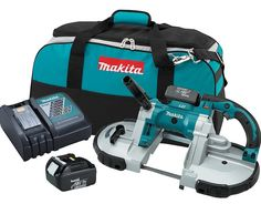 For ultimate versatility you may want to opt for a battery powered cordless band saw