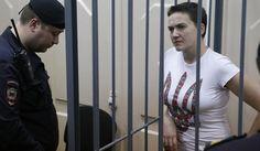 Nadia Savchenko Ukraine Pilot Nadiya Savchenko Confronts Her Kremlin Captors