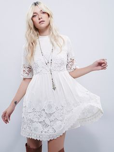 Free People Amelie Mini Dress at Free People Clothing Boutique