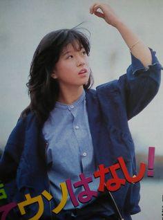 Aesthetic Japan, Japanese Aesthetic, Japan Fashion, Girl Fashion, 1980s Fashion Trends, Pop Idol, Sweet Memories, Vintage Japanese, Hair Inspiration
