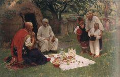 """Фотій Красицький. """"Гість з Запоріжжя"""". 1912. НХМУ."""