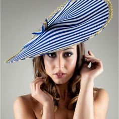 Venice by Forme Millinery. This great piece and more found at http://www.fashionattheraces.com