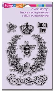 Stampendous Clear Stamps QUEEN BEE SSC1154* at Simon Says STAMP!