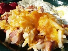 There's nothing I like better than a recipe I can mix in one bowl, pour into my dutch oven and bake. These Cheesy Potatoes with Smo...