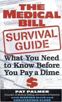 The Medical Bill Survival Guide: What You Need to Know Before You Pay a Dime. Information on guidelines that medical providers and auditors must follow here: http://www.aamas.org/news/natl-audits-guidelines.html