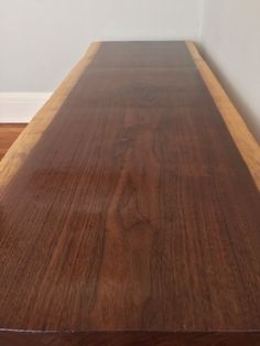 Coffee Table Console Table Bench Live Edge by StocktonHeritage
