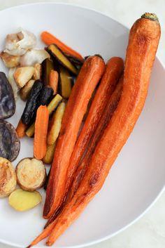 Roasted Carrots, Quinoa & Tempeh Bowl (vegan) apolloandluna.com
