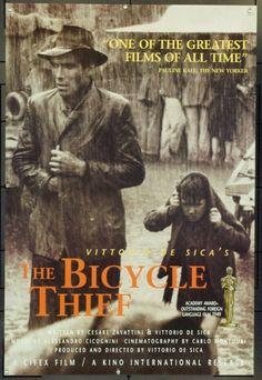 MovieArt Original Film Posters - LADRI DI BICICLETTE (1948)