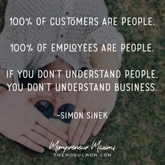 Inspiring quotes for Mompreneurs | The Mogul Mom | WAHM |Simon Sinek quote | Marketing quote | Business quote
